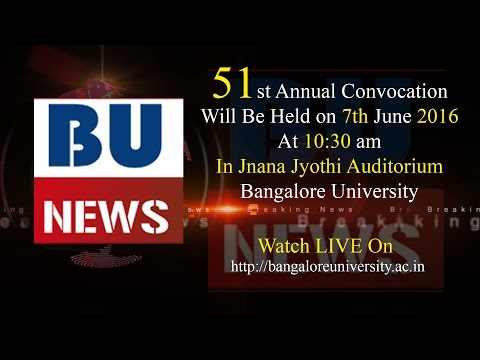 Bangalore University News Live Stream