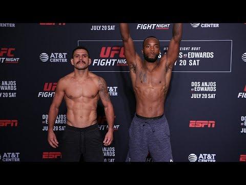 UFC San Antonio: Weigh-in Faceoffs