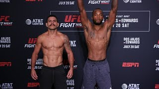 UFC San Antonio: Weigh-in Faceoffs
