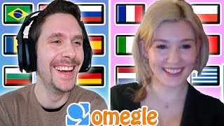 Speaking 10 Different Langขages on Omegle #1