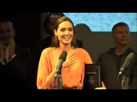 Angelina Jolie Breaks Into Tears at Sarajevo Film Festival With Brad Pitt