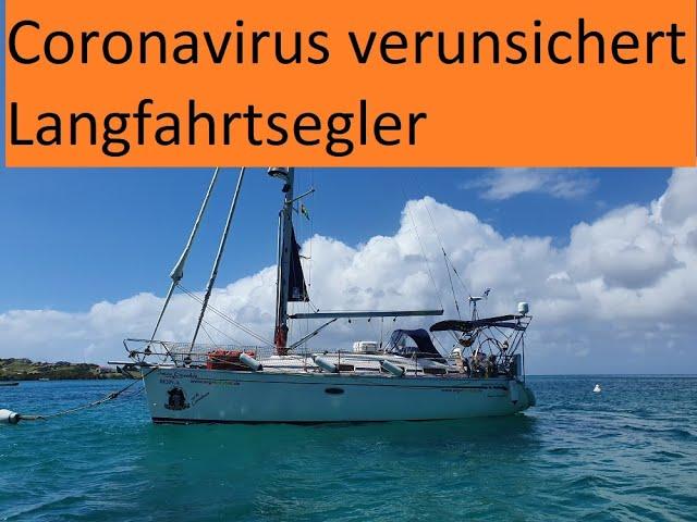 Coronavirus Segler auf Langfahrt