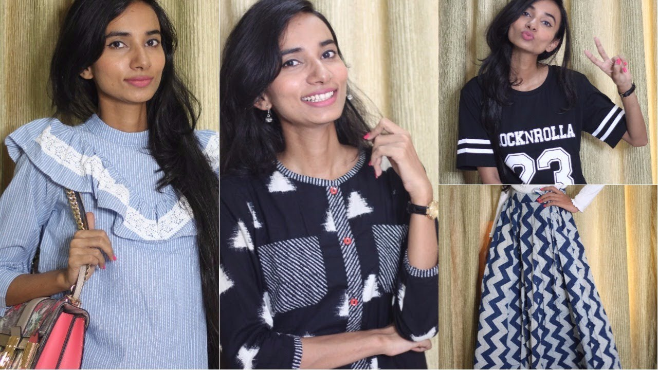 a29e102e88 SHEIN, ROMWE & JABONG Try- On Haul | Online Shopping in India | Sneha Sen