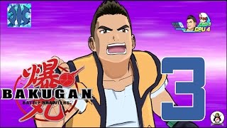 �������� ���� Bakugan: Battle Brawlers [PS3/1080p/60fps] #3 [Тренировка 2 на 2] ������