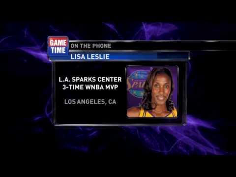 Lisa Leslie spoke to NBA TV Sparks