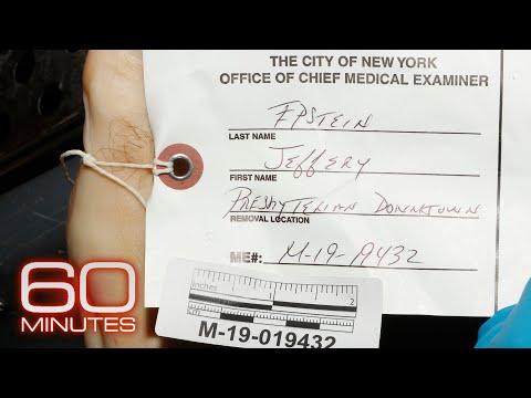 Jeffrey Epstein's autopsy: