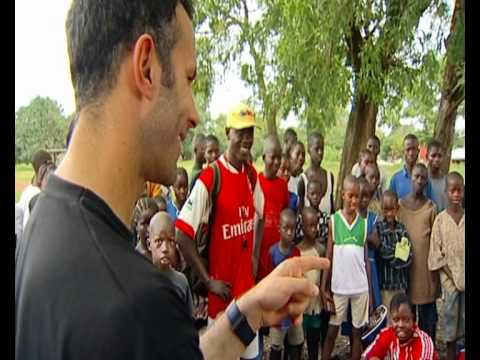 Ryan Giggs interview on UNICEF and footballer's pay