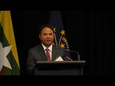 CIBER Doing Business Conference: Myanmar - Welcome Address
