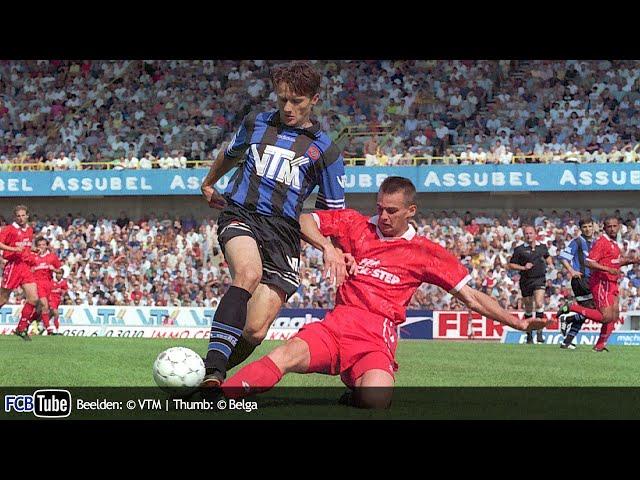 1995-1996 - Jupiler Pro League - 04. Club Brugge - SV Waregem 3-1