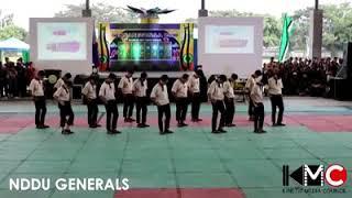"""NDDU GENERALS Presents """"Harana"""" Dance Moves"""