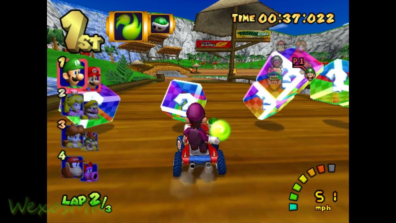 [MKDD] DS Yoshi Falls - Mario Kart Double Dash Custom Track