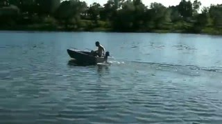 Алюминиевая лодка картоп