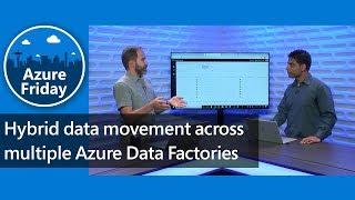 Hybrid data movement across multiple Azure Data Factories | Azure Friday
