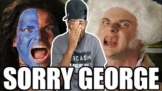 [ REACTION ] George Washington vs William Wallace & ERB Behind the Scenes‼