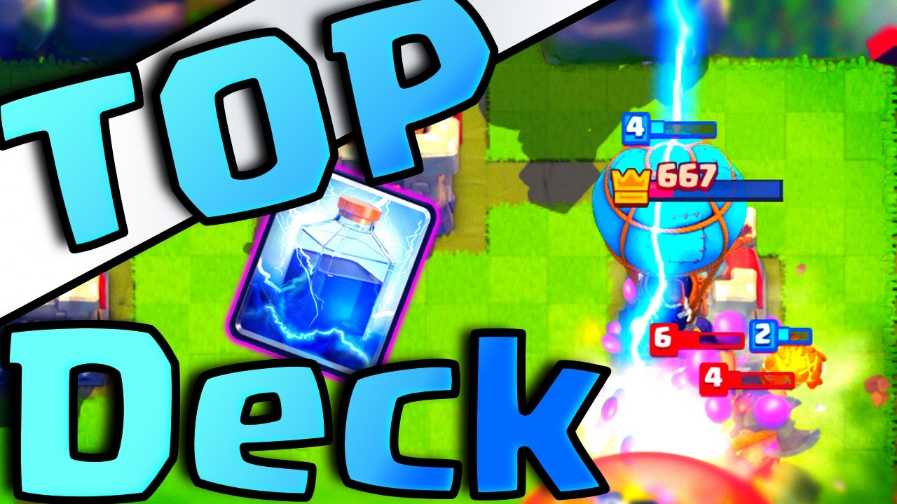 Top Lava Loon Lighting Deck Clash Royale