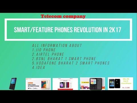 Telecom Company Smart/Feature Phones Revolution in 2K17