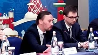 Смотреть видео «Санкт-Петербург встречает Кубок» - пресс (6) онлайн