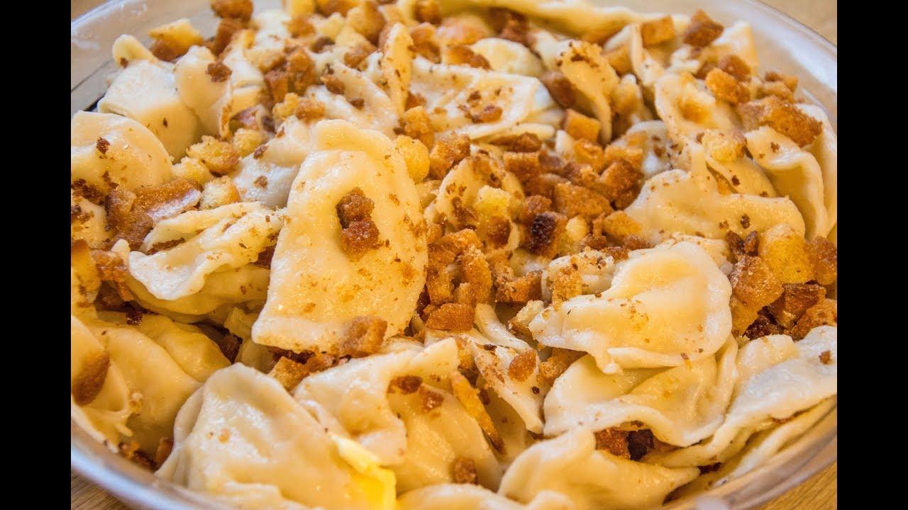 Wareniki Rezept mit Kartoffelfüllung - Teigtaschen