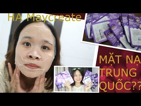 5 NGÀY ĐẮP MẶT NẠ TRUNG QUỐC   REVIEW mặt nạ HA MAYCREATE NỘI ĐỊA TRUNG   Phương Phạm