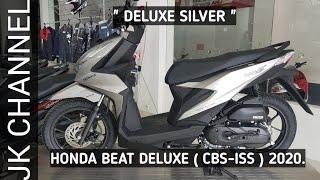 Honda Beat 2020 Tipe Deluxe Cbs Iss Tampil Simpel Dengan Aksen Krom 2 Pilihan Warna Youtube
