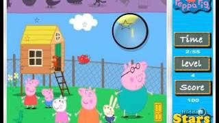 Свинка Пеппа Игра: Поиск Звезд. Peppa Pig Game: Find Stars