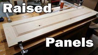 Making Raised Panel - Step by Step