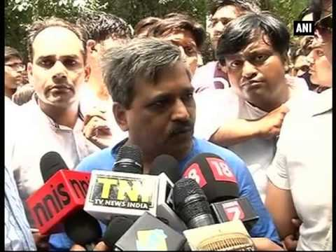 BJP protests outside Kejriwal's residence over procurement of snooping devices