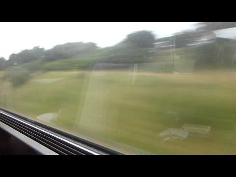 From London To Paris By EuroStar Express Train (current Speed: 350 Km/h) FULL HD
