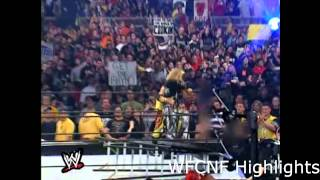 Dudley Boyz vs Hardys vs Edge & Christian WrestleMania X-Seven Highlights
