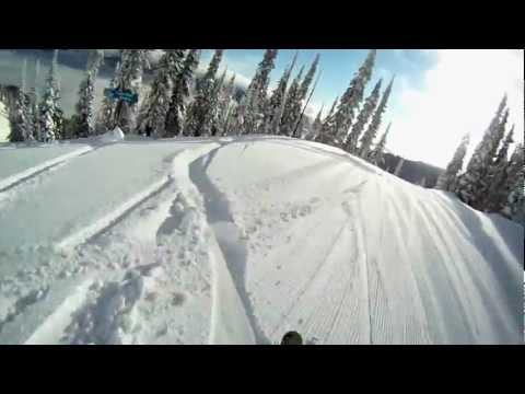 GoPro Skiing - Fernie, BC - Meet me in Timber Bowl!