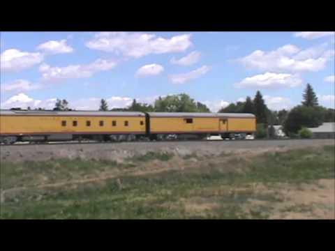 Union Pacific 844 in Potter, Nebraska June 2013