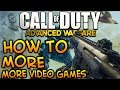 How To Get Your Parents To Let You Play MORE Video Games! - Advanced Warfare (Father Sonday)