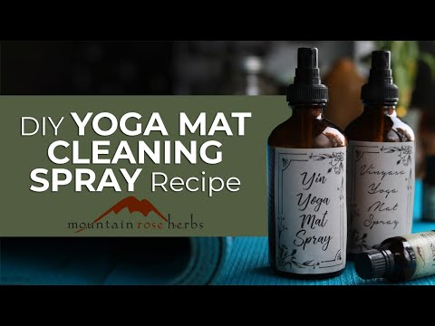 DIY Yoga Mat Cleaning Spray Recipes