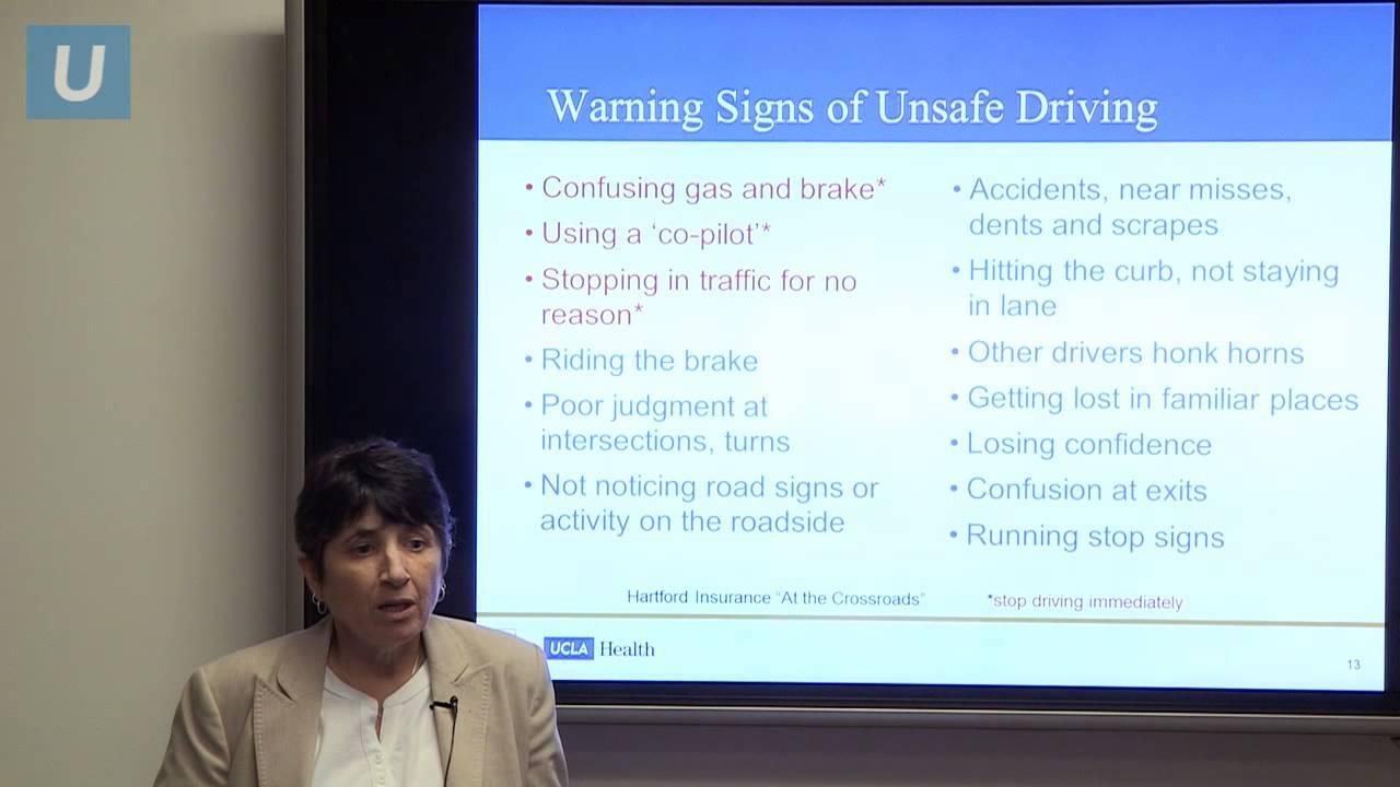 Driving and Dementia # UCLAMDChat | Linda Ercoli, MD - UCLA Health