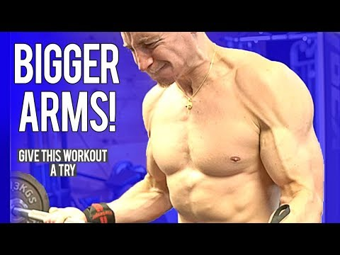 Workout For BIGGER ARMS! | Give It A Try