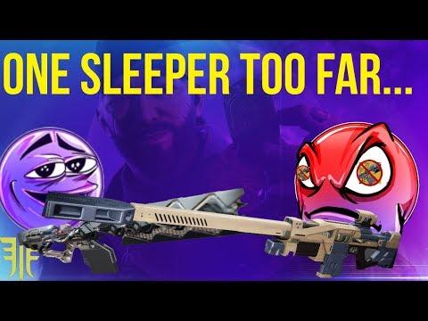 When Sleeper Simulant Pushes You Too Far(Gambit Snipes) Destiny 2 Forsaken