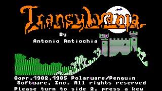 Transylvania walkthrough (Apple II - Polarware)