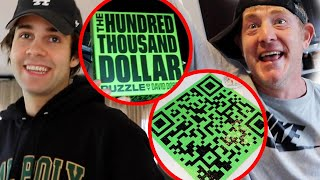 WINNING BEST FRIEND'S $100,000 PUZZLE!!