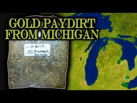 Baixar Gold Prospecting at Home #24 - Glacial Till Gold - Paydirt from Michigan