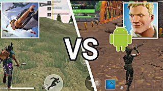 LE COMPARATED QUE TOUT LE MONDE WAITS- FREE FIRE VS FORTNITE ANDROID
