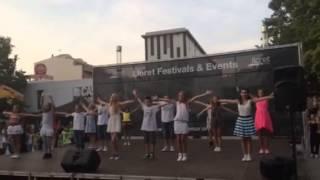Отчетный концерт Лагеря Тодес в Испании ч.1