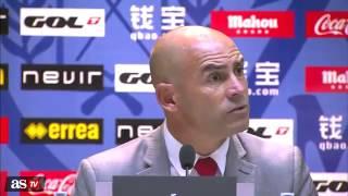 Paco Jemez vs Frederic Hermel sobre Zidane