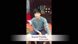 Teen King Daniel Padilla Greet Kathryn Bernardo