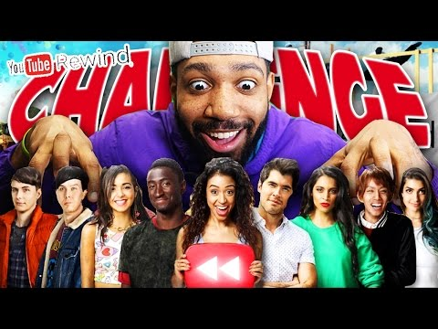 THE YOUTUBE REWIND CHALLENGE 2016! - [REACTION/CHALLENGES?]