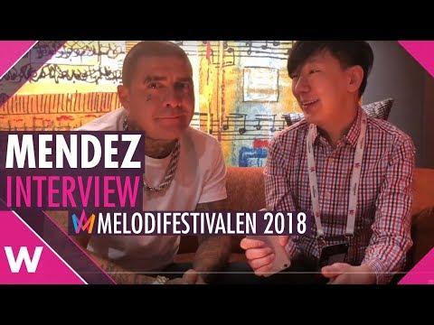 "Mendez ""Everyday"" | Melodifestivalen SF3 Malmö (Interview)"