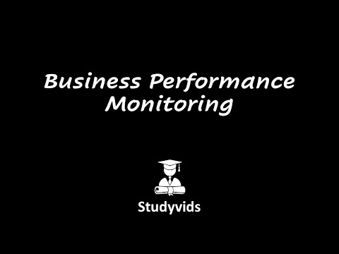 N0510E  Business Performance Monitoring