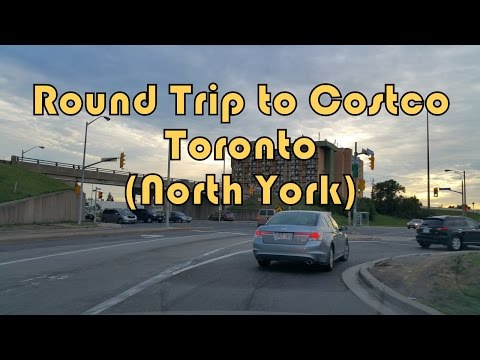 2016 Round Trip Costco North York (Toronto), Canada