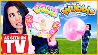 The Wubble Bubble: Epic Fail! Uncensored Real Life Review!