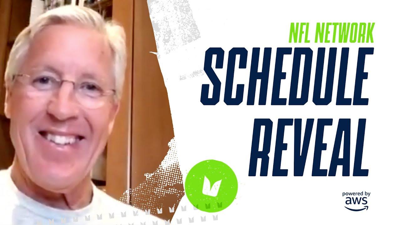 Pete Carroll Talks 2020 Seahawks Schedule | NFL Network Schedule Reveal