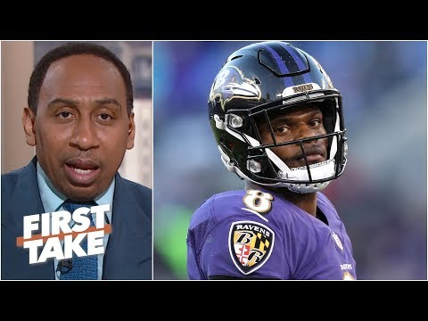 Lamar Jackson should have been benched for Joe Flacco - Stephen A. l First Take